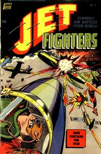 Cover Thumbnail for Jet Fighters (Pines, 1952 series) #7