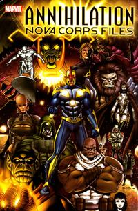 Cover Thumbnail for Annihilation The Nova Corps Files (Marvel, 2006 series)