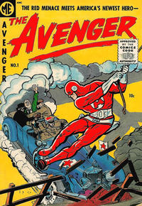 Cover Thumbnail for The Avenger (Magazine Enterprises, 1955 series) #1 [A-1 #129]