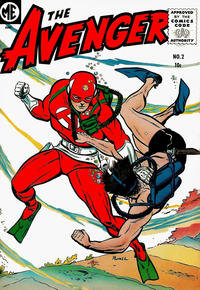 Cover Thumbnail for The Avenger (Magazine Enterprises, 1955 series) #2 [A-1 #131]