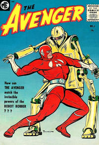 Cover Thumbnail for The Avenger (Magazine Enterprises, 1955 series) #3