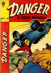 Cover Thumbnail for Danger is Their Business (Magazine Enterprises, 1952 series) #11