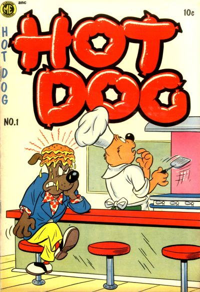 Cover for Hot Dog (Magazine Enterprises, 1954 series) #1 [A-1 #107]
