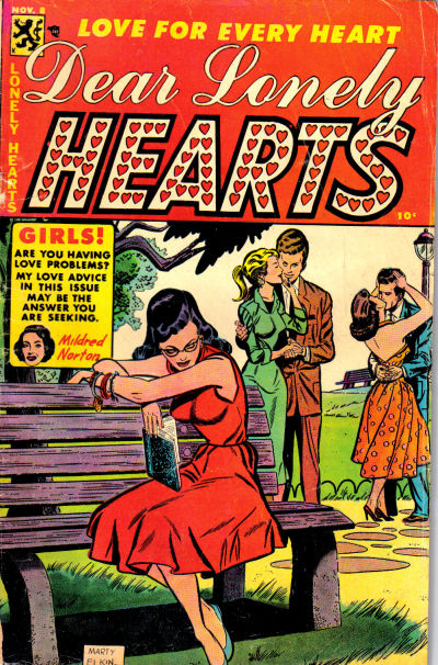 Cover for Dear Lonely Hearts (Comic Media, 1953 series) #8