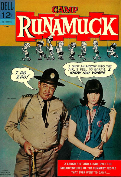 Cover for Camp Runamuck (Dell, 1966 series) #1
