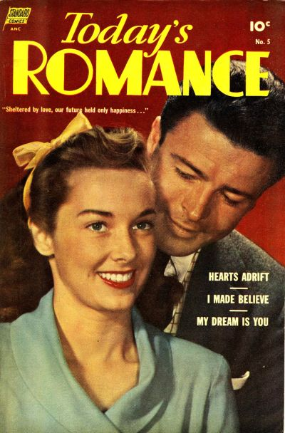 Cover for Today's Romance (Standard, 1952 series) #5