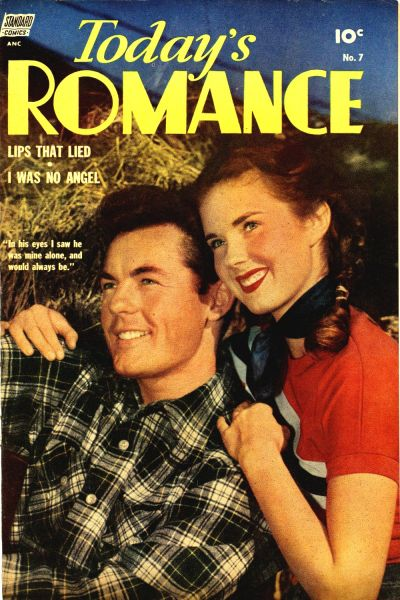 Cover for Today's Romance (Standard, 1952 series) #7