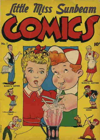 Cover for Little Miss Sunbeam Comics (Magazine Enterprises, 1950 series) #1
