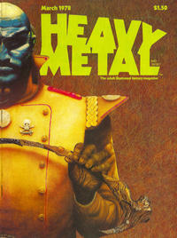 Cover for Heavy Metal Magazine (HM Communications, Inc., 1977 series) #v1#12