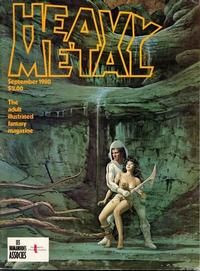 Cover Thumbnail for Heavy Metal Magazine (HM Communications, Inc., 1977 series) #v4#6 [Direct Sales]