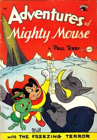 Cover Thumbnail for Adventures of Mighty Mouse (St. John, 1952 series) #12