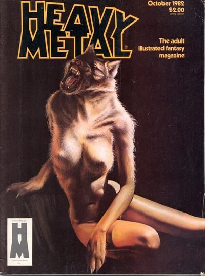 Cover for Heavy Metal Magazine (HM Communications, Inc., 1977 series) #v6#7