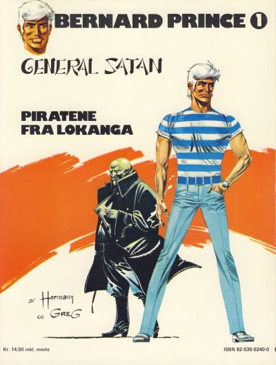 Cover for Bernard Prince (Semic, 1979 series) #1 - General Satan