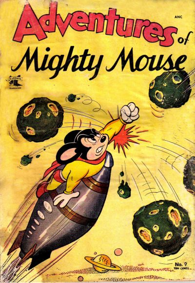 Cover for Adventures of Mighty Mouse (St. John, 1952 series) #9