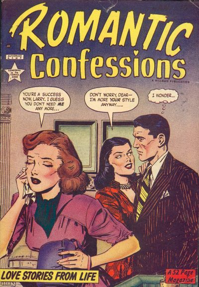 Cover for Romantic Confessions (1949 series) #v1#4
