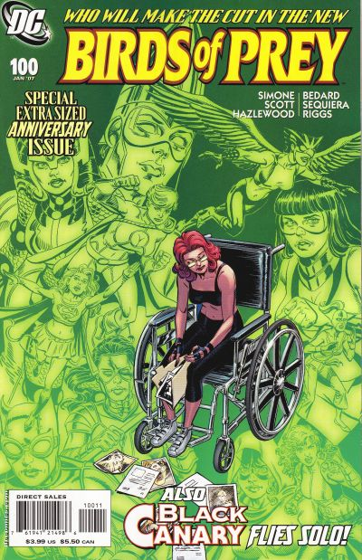 Cover for Birds of Prey (DC, 1999 series) #100