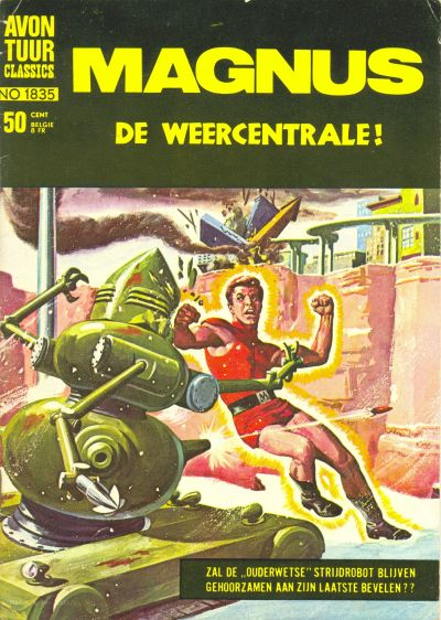 Cover for Avontuur Classics (Classics/Williams, 1966 series) #1835