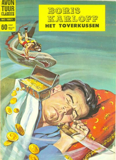 Cover for Avontuur Classics (1961 series) #1869