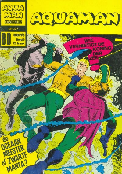 Cover for Aquaman Classics (Classics/Williams, 1969 series) #2517