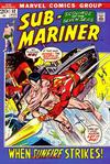 Cover for Sub-Mariner (Marvel, 1968 series) #52