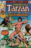 Cover for Tarzan (Marvel, 1977 series) #10