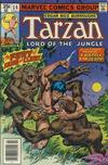 Cover for Tarzan (Marvel, 1977 series) #14