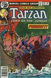 Cover for Tarzan (Marvel, 1977 series) #19