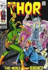 Cover for Thor (Marvel, 1966 series) #167 [Regular Edition]
