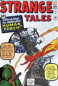 Cover Thumbnail for Strange Tales (Marvel, 1951 series) #101