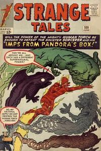 Cover Thumbnail for Strange Tales (Marvel, 1951 series) #109