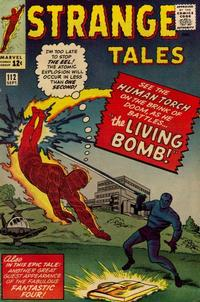 Cover for Strange Tales (Marvel, 1951 series) #112