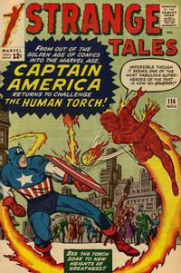 Cover for Strange Tales (Marvel, 1951 series) #114