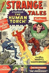 Cover for Strange Tales (Marvel, 1951 series) #118