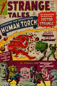 Cover Thumbnail for Strange Tales (Marvel, 1951 series) #121