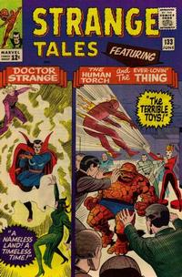 Cover Thumbnail for Strange Tales (Marvel, 1951 series) #133