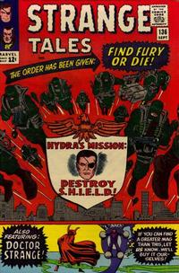 Cover Thumbnail for Strange Tales (Marvel, 1951 series) #136