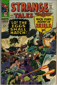 Cover Thumbnail for Strange Tales (Marvel, 1951 series) #145