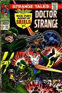 Cover for Strange Tales (Marvel, 1951 series) #155 [Regular Edition]