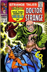 Cover Thumbnail for Strange Tales (Marvel, 1951 series) #157 [Regular Edition]