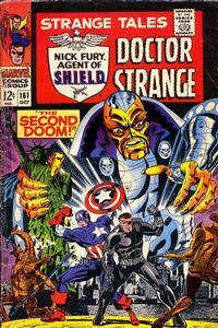 Cover Thumbnail for Strange Tales (Marvel, 1951 series) #161