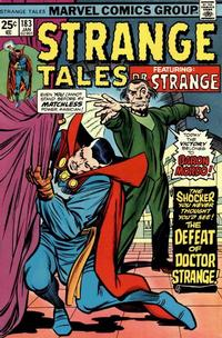 Cover Thumbnail for Strange Tales (Marvel, 1973 series) #183