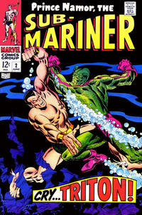 Cover Thumbnail for Sub-Mariner (Marvel, 1968 series) #2