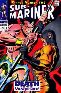 Cover Thumbnail for Sub-Mariner (Marvel, 1968 series) #6