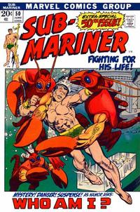 Cover Thumbnail for Sub-Mariner (Marvel, 1968 series) #50