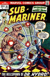 Cover Thumbnail for Sub-Mariner (Marvel, 1968 series) #61