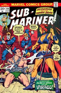 Cover Thumbnail for Sub-Mariner (Marvel, 1968 series) #64