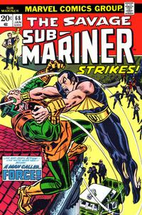 Cover Thumbnail for Sub-Mariner (Marvel, 1968 series) #68