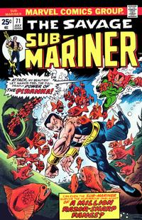 Cover Thumbnail for Sub-Mariner (Marvel, 1968 series) #71