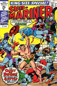 Cover Thumbnail for Sub-Mariner Annual (Marvel, 1971 series) #1