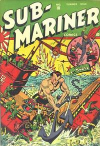 Cover Thumbnail for Sub-Mariner Comics (Marvel, 1941 series) #10